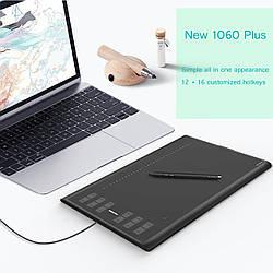 Профессиональный графический планшет New Huion 1060 Plus (8192)