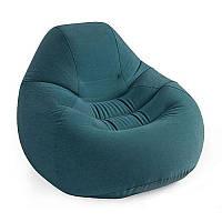 Велюр кресло 68583 удобное, надувное 122-127-81,см