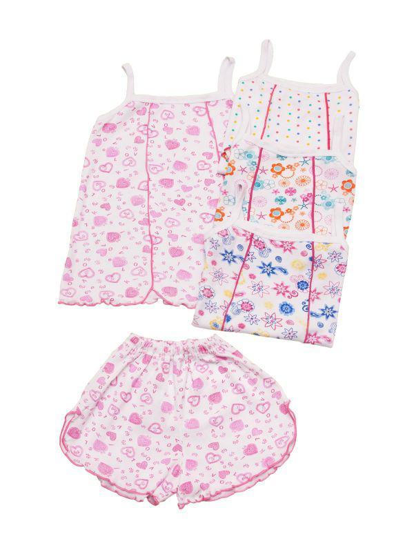 Летняя пижама для девоки топ и шорты опт