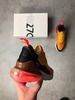 Мужские кроссовки в стиле Nike Air Max 270 Orange/Red (41 размер), фото 3