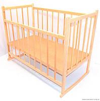 Гр *Кроватка-качалка деревянная №3 (1)