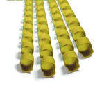 Пружина пластиковая  6мм желт