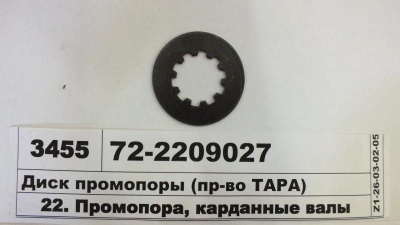 Диск промопоры (тонкий) (пр-во ТАРА) 72-2209027