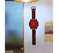 """Часы наклейки на стену """"наручные часы"""""""
