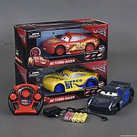 """Машина 17616-51-4-41 С """"Тачки"""" (48/2) р/у, на аккумуляторе 3.6V, 3 цвета, в коробке"""