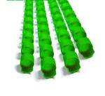 Пружина пластиковая  6мм зел