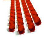 Пружина пластиковая  6мм красн