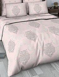 Семейный комплект постельного белья сатин (9477) TM КРИСПОЛ Украина