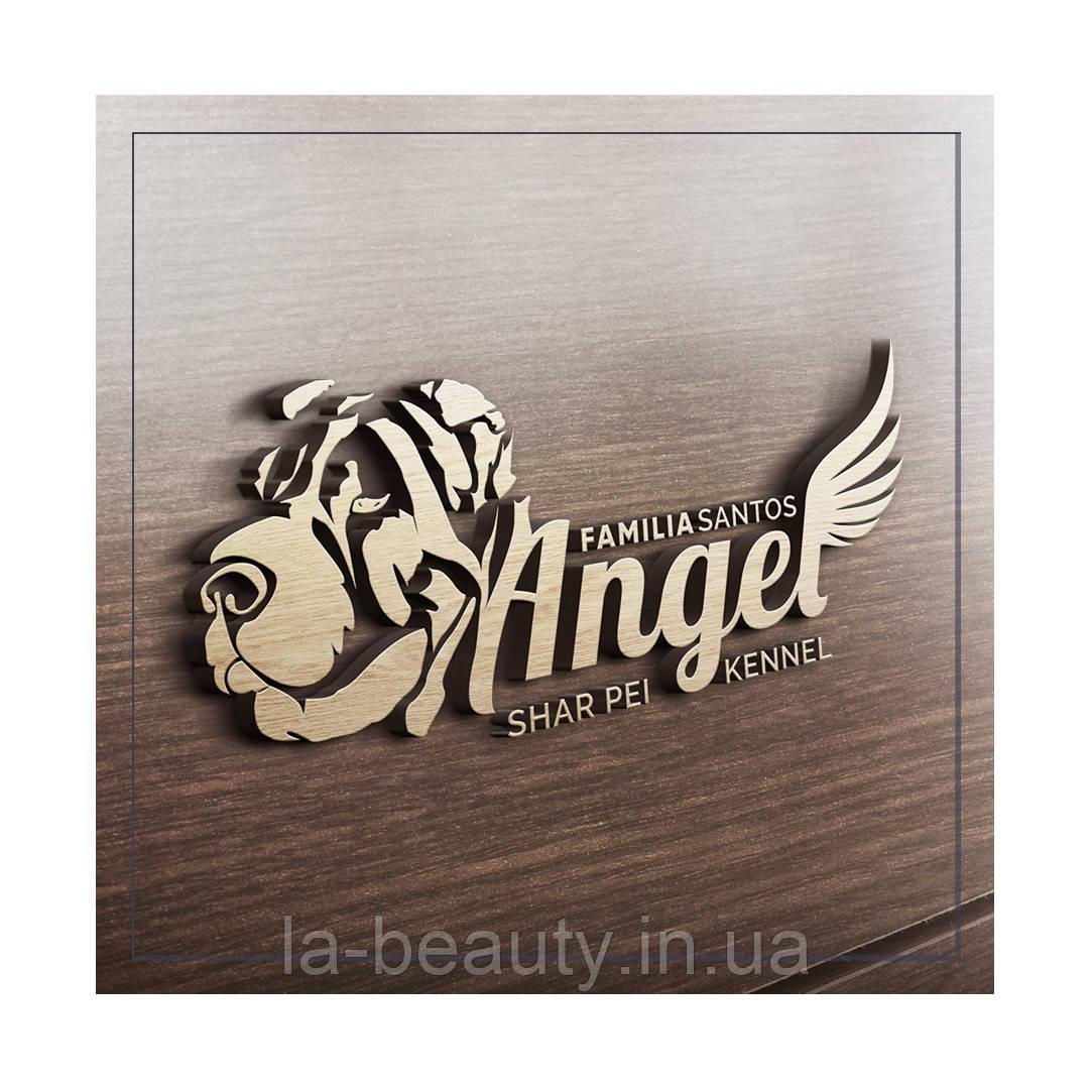 Дизайн логотипа питомника собак (шар пеи)