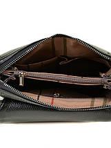 Мужская сумка планшет через плечо кожа BRETTON 503-1 black, фото 3
