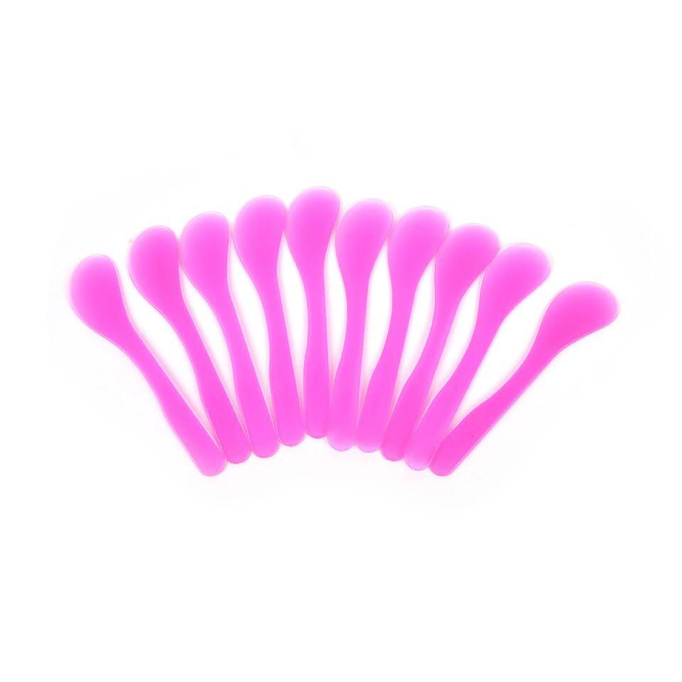 Шпатель пластиковый, розовый