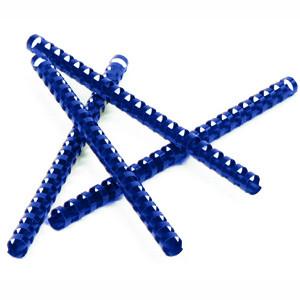 Пружина пластиковая  8мм син