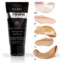 Тональний крем для обличчя Ingrid Cosmetics Mineral Silk & Lift #280 light ivory (світлий, слонова кістка)