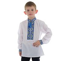 Вышитая сорочка для мальчика вышиванка