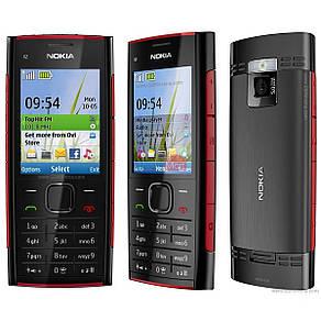 Мобильный телефон Nokia X2-00 Black/Red Оригинал