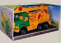 "Машина ""Магирус"" кран в коробке COLORplast"