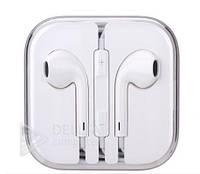 Навушники Apple iphone з мікрофоном, якісна копія APPLE5 handsfree навушників