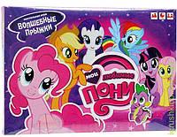 """Настольная игра """"Волшебные прыжки-Мои любимые пони"""", ENFANT NEW"""