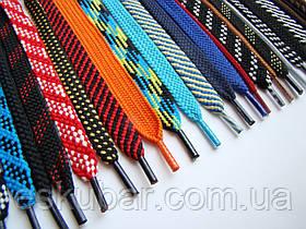 Шнурки для обуви плоские цветные 1 м