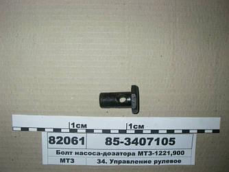 Болт насоса-дозатора МТЗ-1221, 900 (пр-во БЗТДиА) 85-3407105