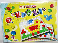 "Мозаика, 80 деталей ""КРОХА"" MAX GROUP"