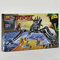 """Конструктор """"NJ"""" 10717 (18) """"Водяной робот"""" 518 деталей, в коробке"""