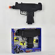 Пистолет 0091 (96) музыкальный, в коробке