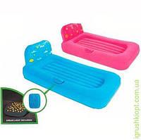 Велюр кровать детская, проектор, 2 цвета, INTEX