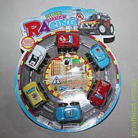 Www Mini Racing, 6 машинок на круглой планшетке
