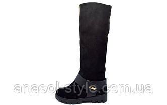 Сапоги Alexey 1085 Black