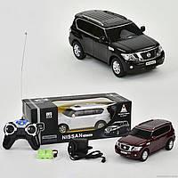 Машина 300409-1 (24) р/у, Nissan Patrol, аккум. 3.6V, 3 цвета, в коробке