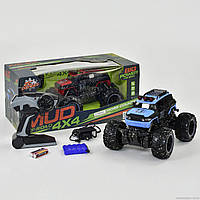 Машина 333 MUD 12 B (12) р/у, аккум. батарея, 2 вида, в коробке