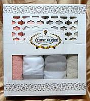 Набор полотенец для сауны First Choice 6- шт лен-махра