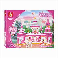 Конструктор SLUBAN Розовая мечта B 0251 43-33-6см
