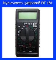 Мультиметр цифровой DT 181!Акция