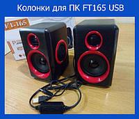 Колонки для ПК FT165 USB!Акция
