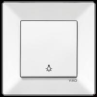 Кнопочний Вимикач Meridian (Білий)