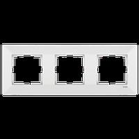 Рамка 3-а горизонтальна Meridian (Крем)