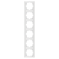 Рамка 6-а вертикальна Meridian (Крем)