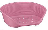 Пластиковый лежак SIESTA DELUXE 6 PINK ferplast