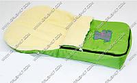 Гр Конверт на овчине 763 (1) цвет зеленый