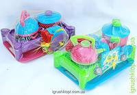 Плита с посудой в сетке,17 предметов, Kinderway