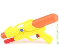 Водный пистолет с насосом, 4 цвета в пакете