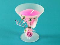 Свеча ароматическая Бокал мартини