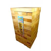 Дженга массив дерева (21х21х38,5 см)(48 шт)