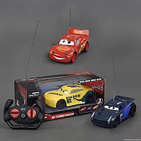 """Машина 17616-43-8-52 """"Тачки"""" (72/2) р/у, 3 цвета, работает от батареек, в коробке"""
