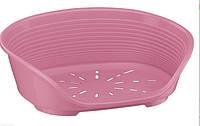 Пластиковый лежак SIESTA DELUXE 2 PINK ferplast