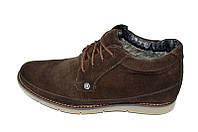 Туфли зимние на меху Van Kristi KN 690 Brown