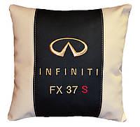 Подарок Подушка декоративная в авто с логотипом инфинити Infiniti
