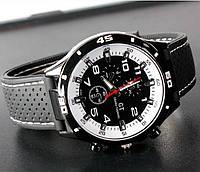 Мужские часы Street Racer GT Grand Touring с белым циферблатом, фото 1